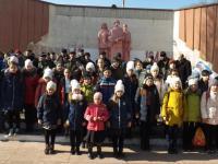 Митинг, посвящённый 30-летию Дня вывода войск из Афганистана.