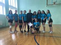 Соревнования по волейболу!
