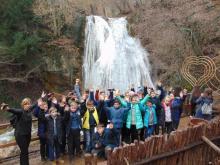Поход выходного дня! Водопад Джур-Джур.